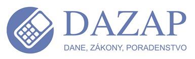 DAZAP, s. r. o. - Dane, zákony a poradenstvo Logo